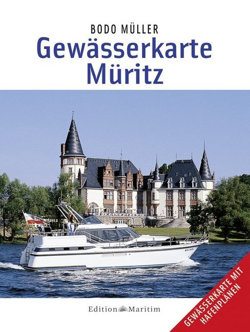 Gewässerkarte Müritz als Buch