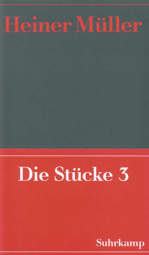 Werke 05. Die Stücke 03 als Buch