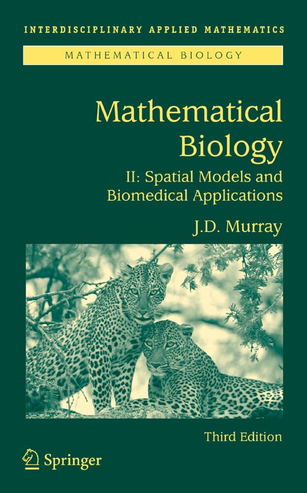 Mathematical Biology II als Buch