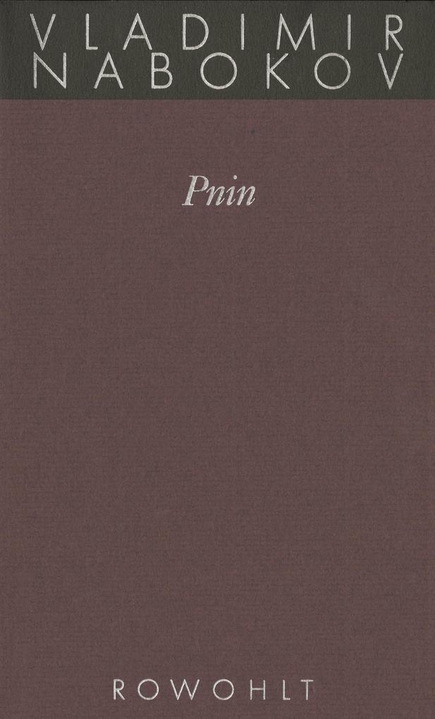 Gesammelte Werke 09. Pnin als Buch
