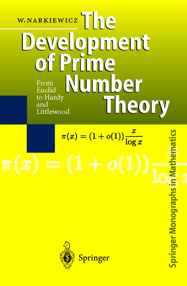 The Development of Prime Number Theory als Buch