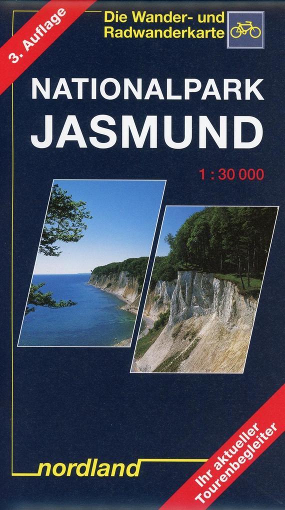 Nationalpark Jasmund 1 : 30 000. Wander- und Radwanderkarte als Buch