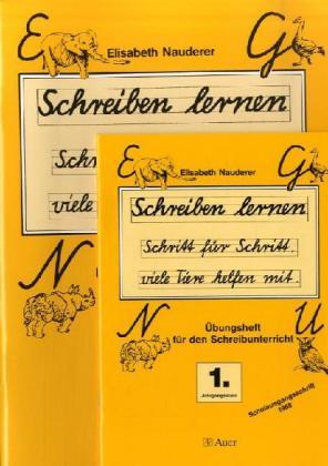 Schreiben lernen 1/2 Übungsblätter für den Schreibunterricht. Schulausgangsschrift 1968 als Buch