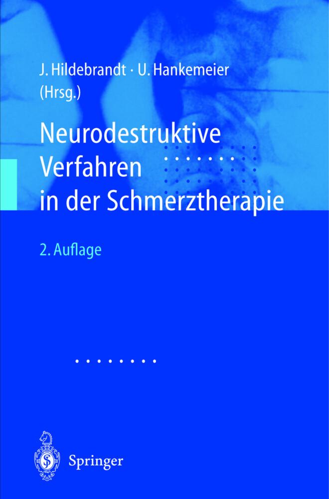 Neurodestruktive Verfahren in der Schmerztherapie als Buch