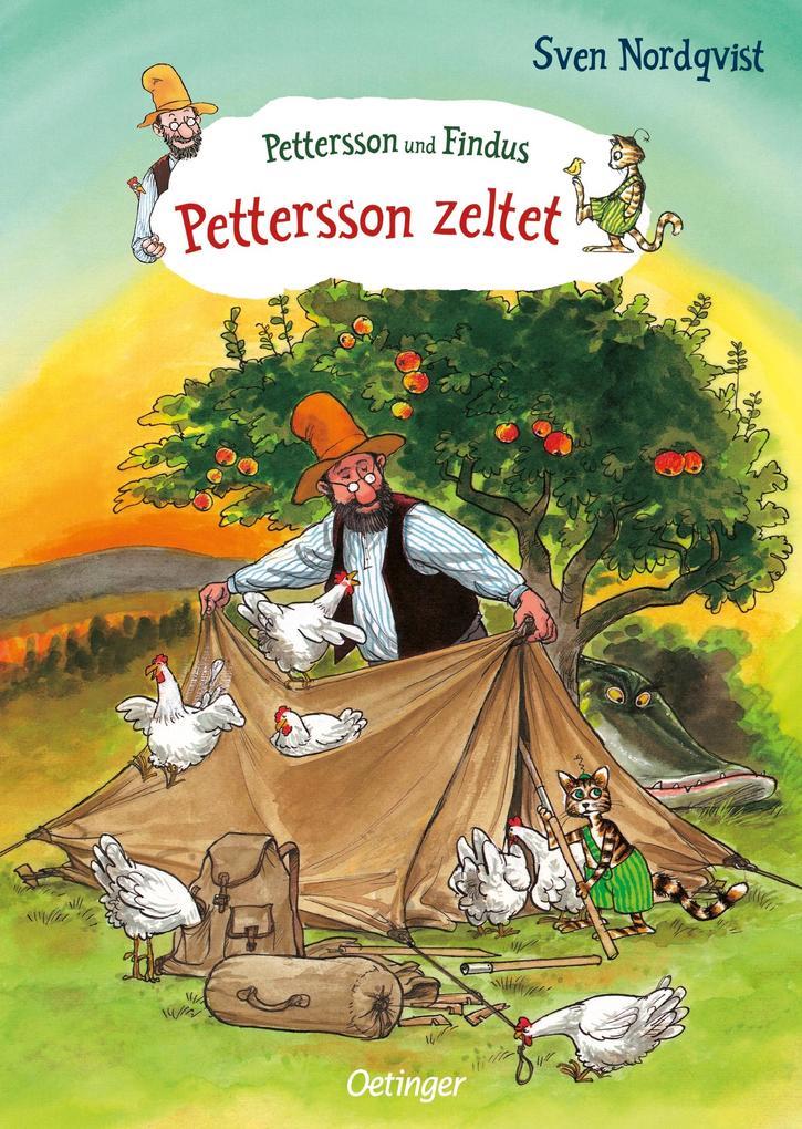 Pettersson zeltet als Buch