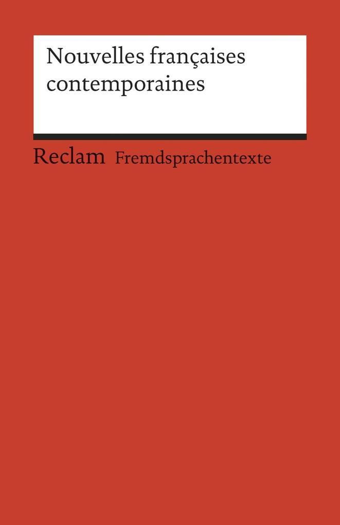 Nouvelles francaises contemporaines als Taschenbuch