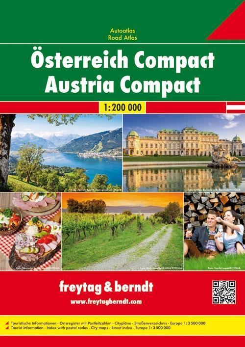Österreich Compact Autoatlas 1 : 200 000 als Buch