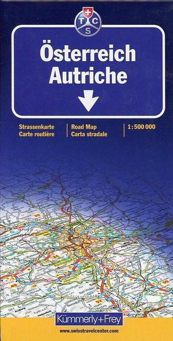 KuF Österreich 1 : 500 000. Straßenkarte als Buch