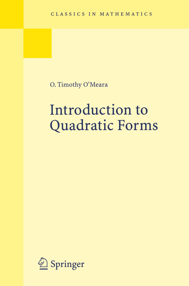 Introduction to Quadratic Forms als Buch