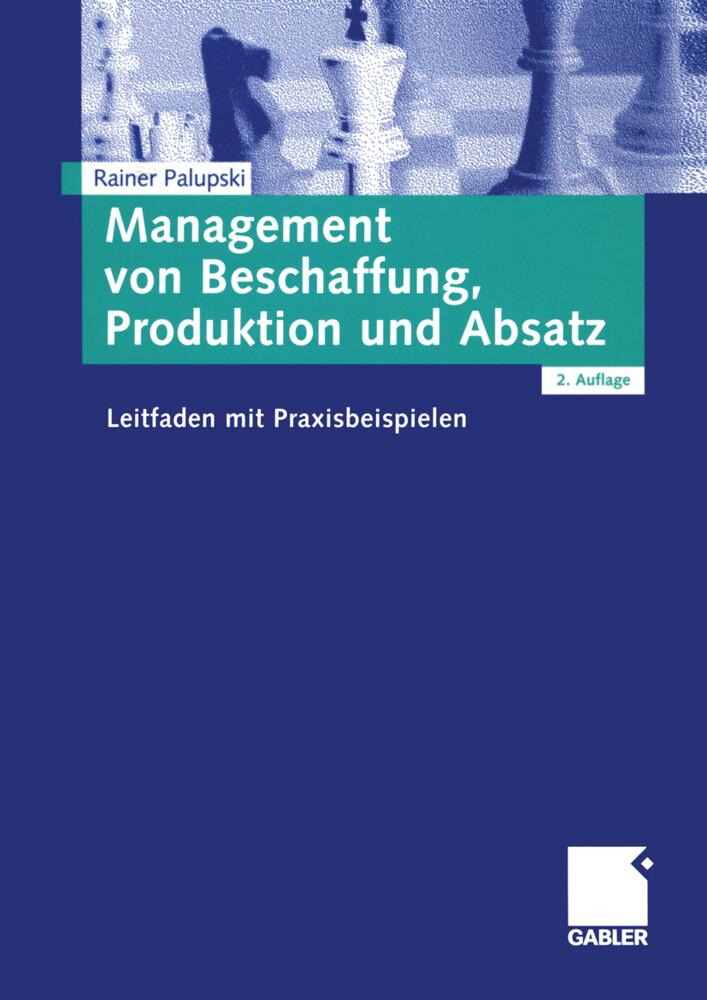 Management von Beschaffung, Produktion und Absatz als Buch