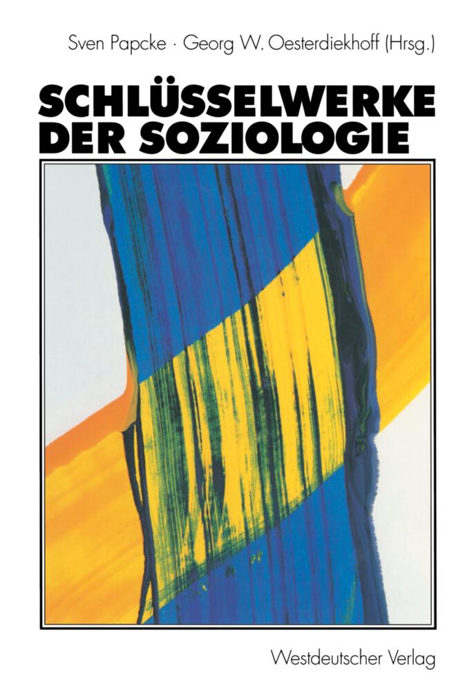 Schlüsselwerke der Soziologie als Buch