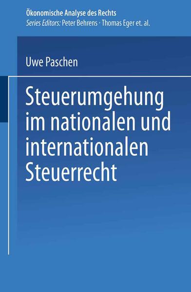 Steuerumgehung im nationalen und internationalen Steuerrecht als Buch