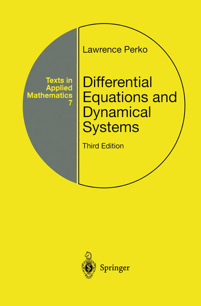 Differential Equations and Dynamical Systems als Buch