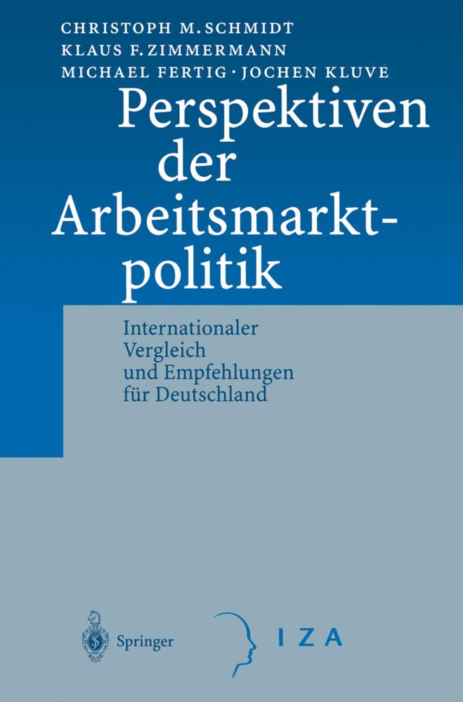 Perspektiven der Arbeitsmarktpolitik als Buch