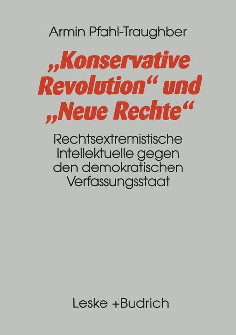 Konservative Revolution und Neue Rechte als Buch