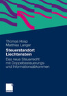 Steuerstandort Liechtenstein