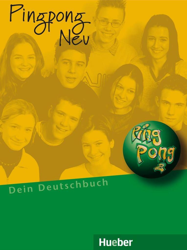 Pingpong neu 2. Lehrbuch als Buch