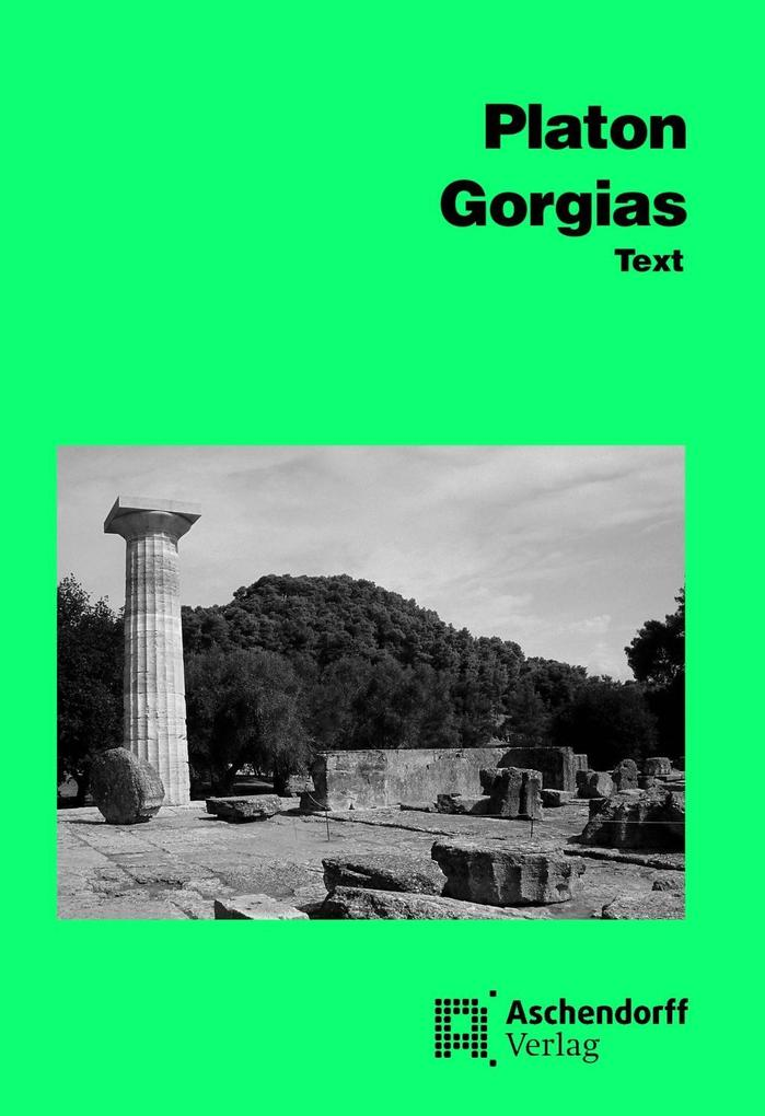 Gorgias. Text als Buch