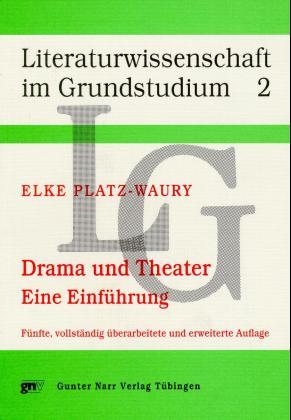 Drama und Theater als Buch