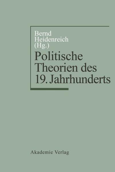 Politische Theorien des 19. Jahrhunderts als Buch