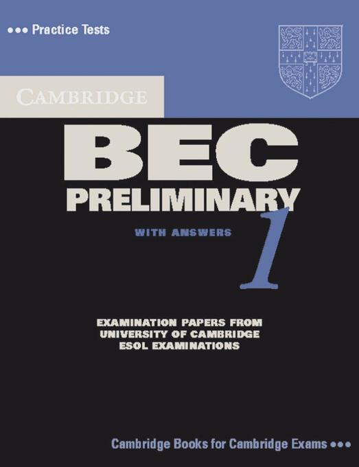 Practice Tests for the Cambridge Business English Certificate. Preliminary Book als Buch