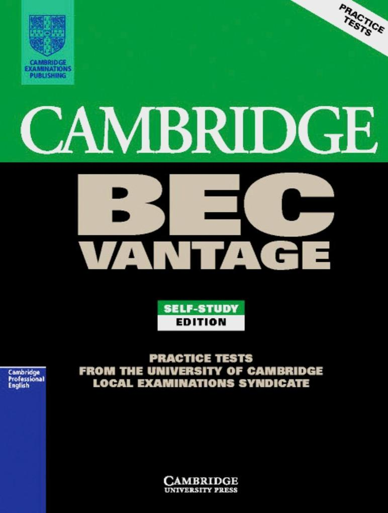 Practice Tests for the Cambridge Business English Certificate. Intermediate Book als Buch
