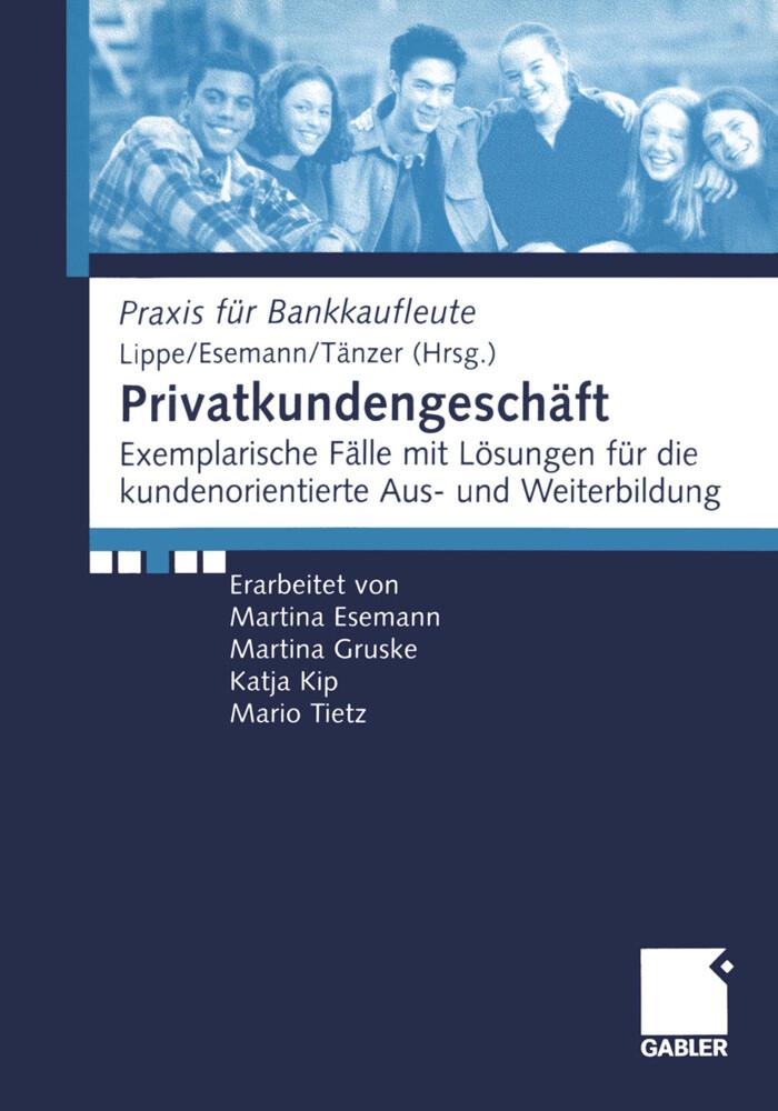 Privatkundengeschäft als Buch