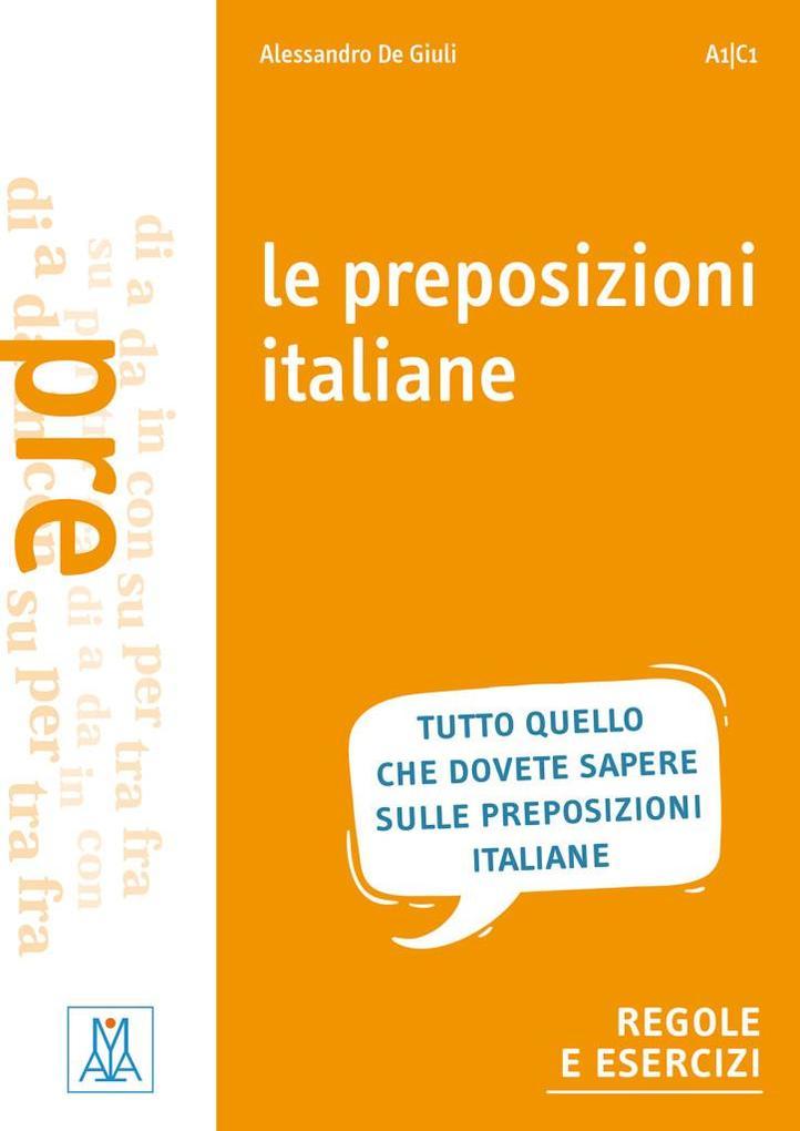 Le preposizioni italiane als Buch
