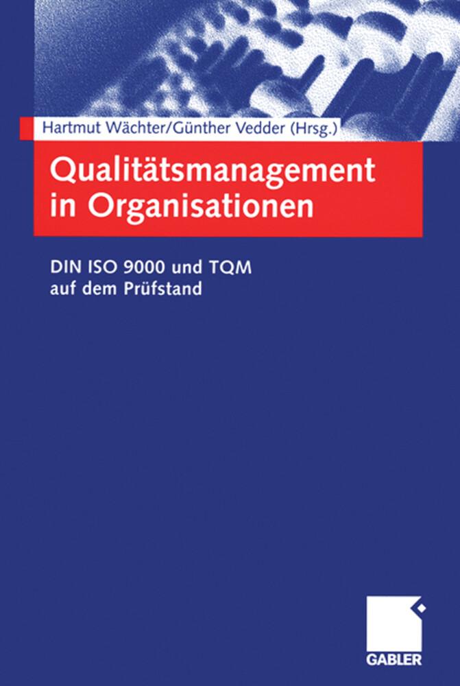 Qualitätsmanagement in Organisationen als Buch