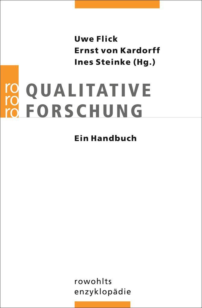 Qualitative Forschung. Ein Handbuch als Taschenbuch