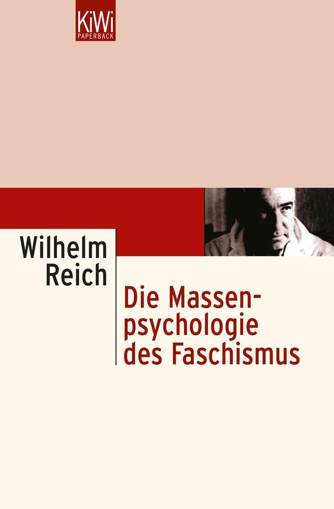 Die Massenpsychologie des Faschismus als Taschenbuch