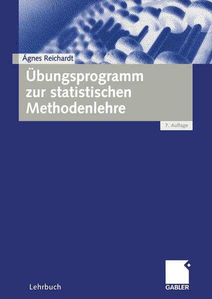 Übungsprogramm zur statistischen Methodenlehre als Buch