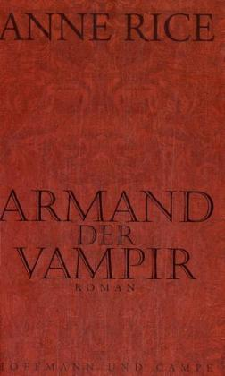 Armand der Vampir als Buch