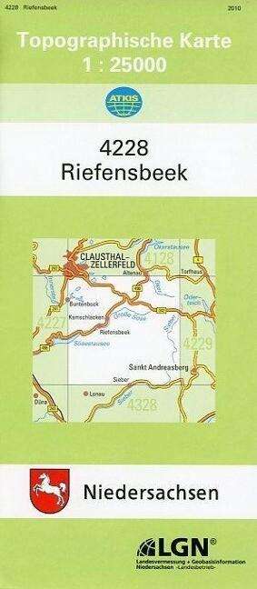 Riefensbeek 1 : 25 000. (TK 4228/N) als Buch