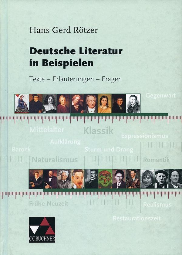 Deutsche Literatur in Beispielen als Buch