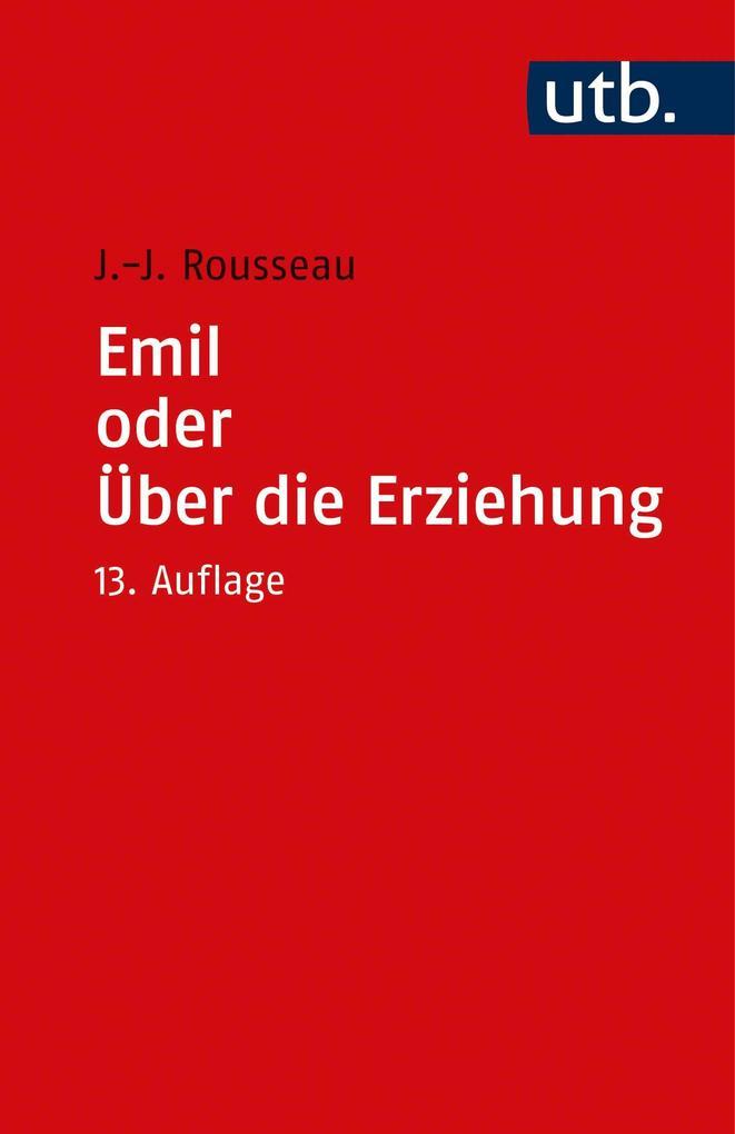 Emile oder Über die Erziehung als Taschenbuch
