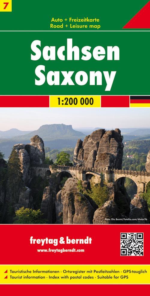 Deutschland 07 Sachsen 1 : 200 000 als Buch