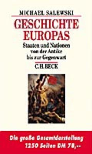 Geschichte Europas als Buch