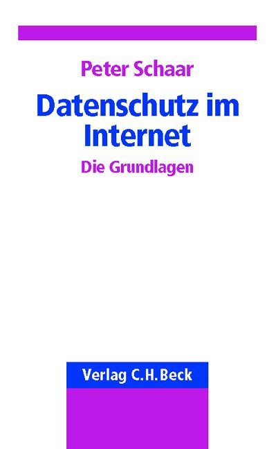 Datenschutz im Internet als Buch