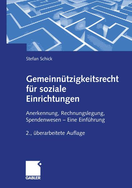 Gemeinnützigkeitsrecht für soziale Einrichtungen als Buch