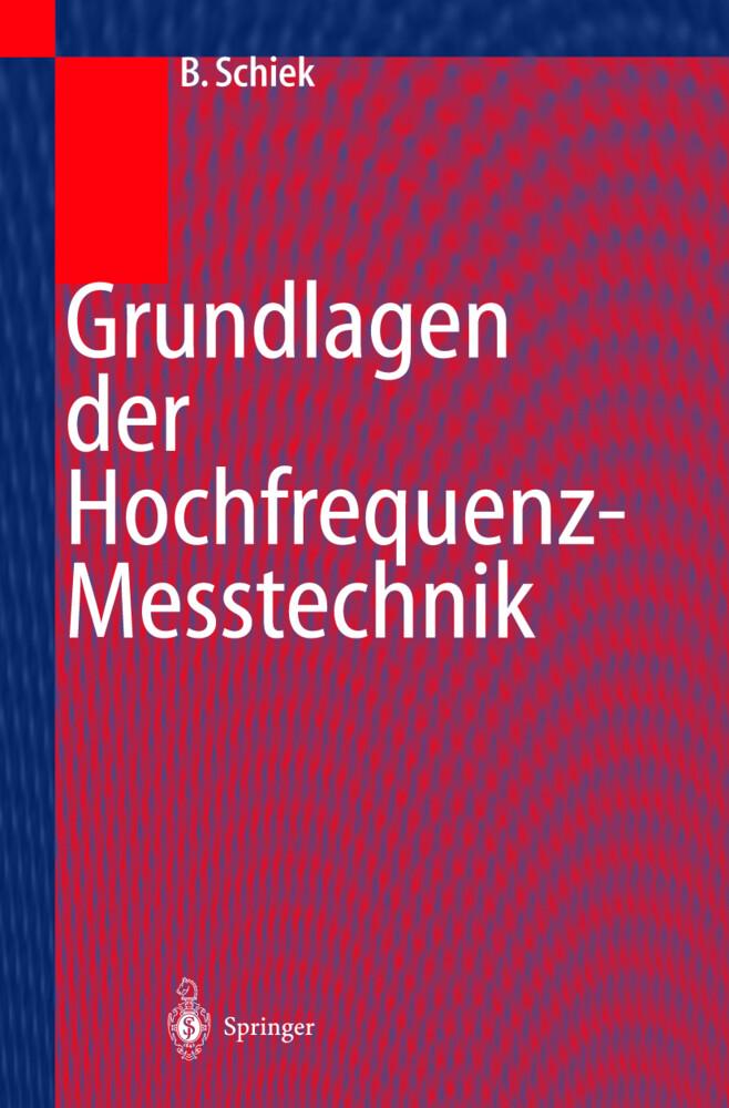 Grundlagen Hochfrequenz-Messtechnik als Buch