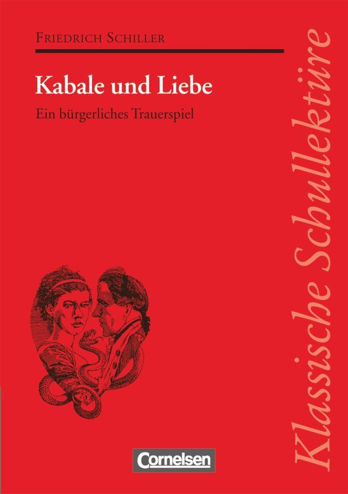 Kabale und Liebe als Buch