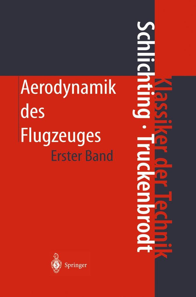 Aerodynamik des Flugzeugs 1 als Buch