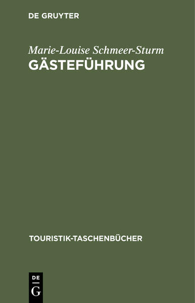 Gästeführung als Buch