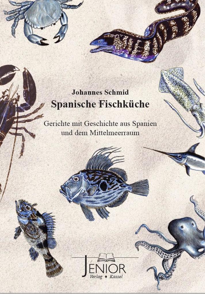 Spanische Fischküche als Buch