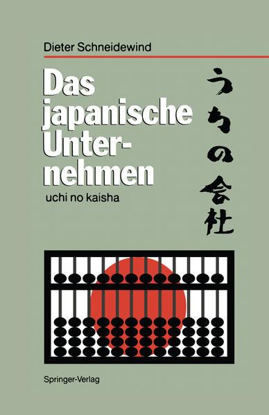 Das japanische Unternehmen als Buch