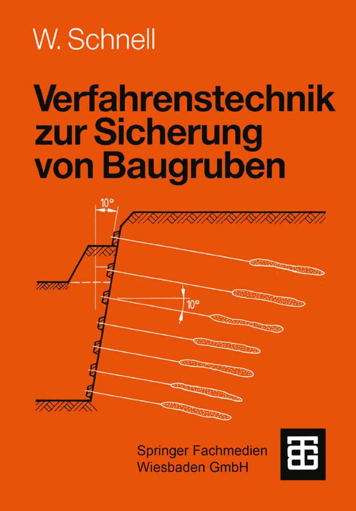 Verfahrenstechnik zur Sicherung von Baugruben als Buch