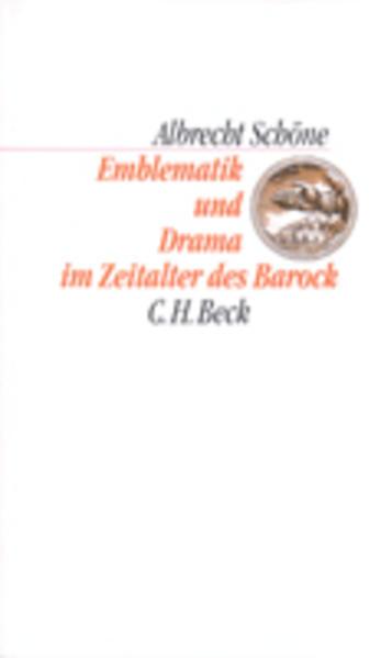 Emblematik und Drama im Zeitalter des Barock als Buch