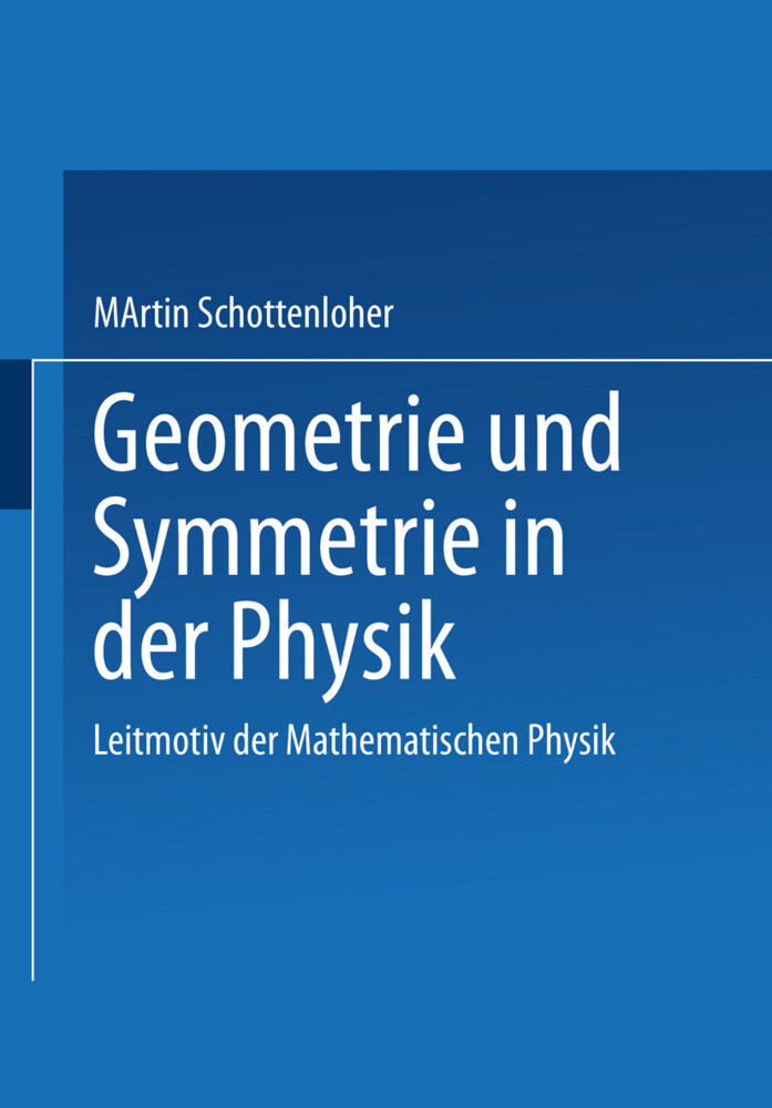 Geometrie und Symmetrie in der Physik als Buch