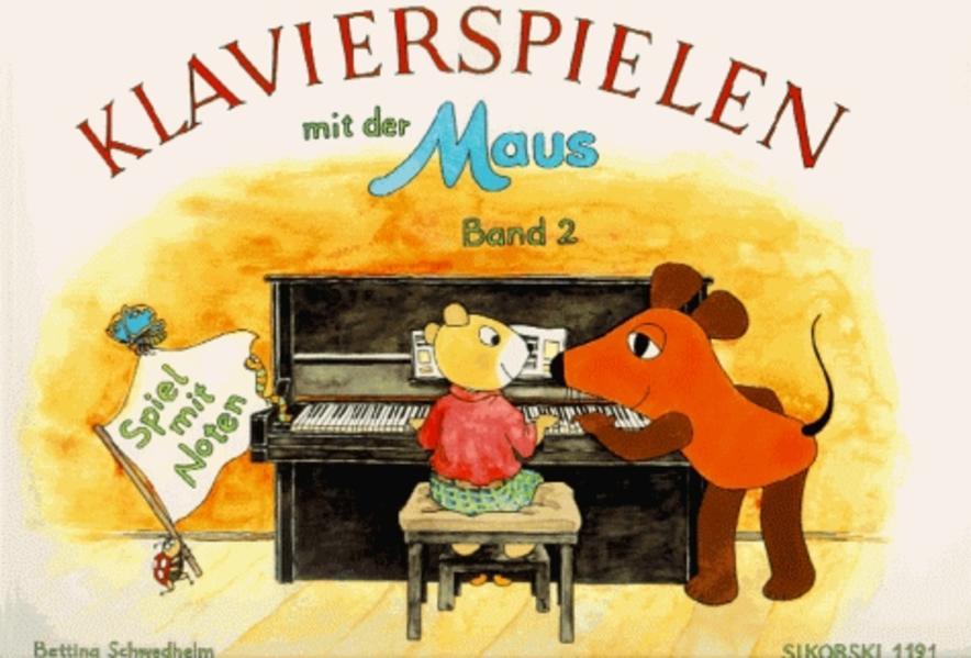 Klavierspielen mit der Maus 2. Spiel mit Noten als Buch